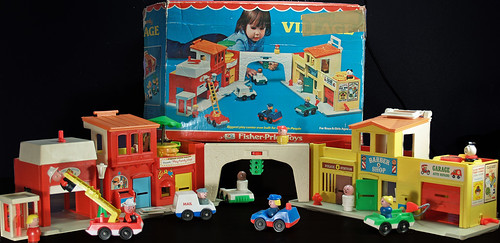 Image of Fisher Price Play Family Village