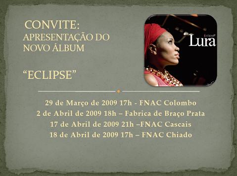 Lura - Convite