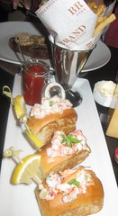 Brand Steakhouse in Las Vegas - Mini Lobster rolls
