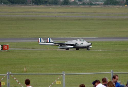 Warbird picture - 2009.06.20.034 LE BOURGET De Havillad DH-100 Vampire FB6 (F-AZOO - cn.636)
