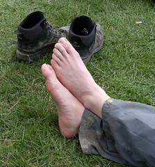 Walked on feet (jur33) Tags: uk 2009 partly trailwalker ramblomatic