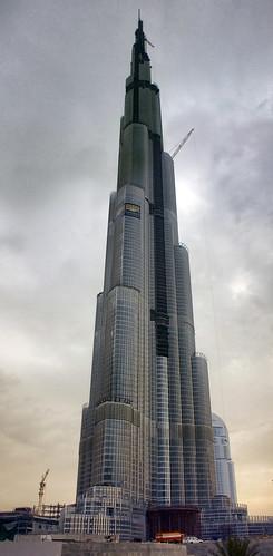 Burj Dubai Khalifa perfil