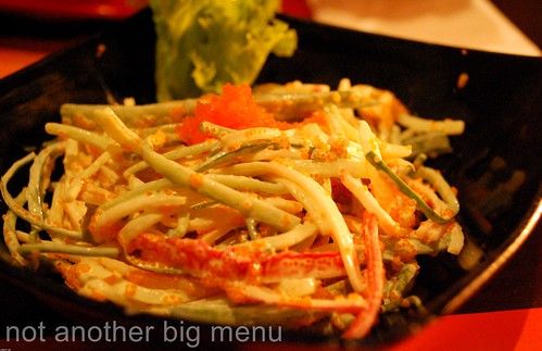 Tsuru, Greenwich - Crab salad