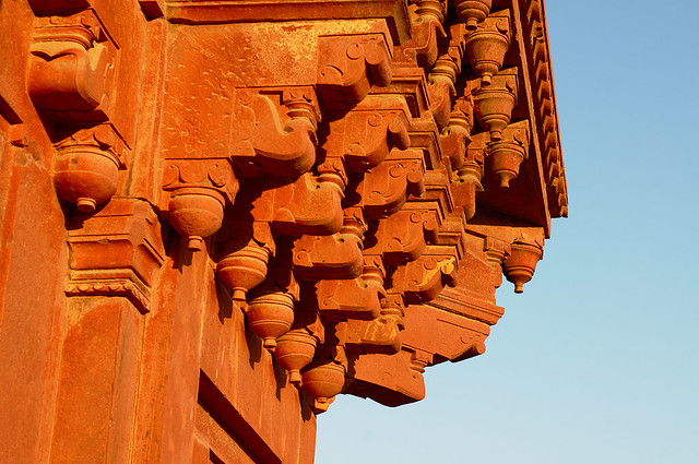 Red Agra Sandstone Palace