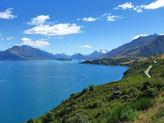 Lake Wakitipu looking towards Glenorchy (Tim Jordan photography) Tags: blue newzealand lake mountains water southisland queenstown remote glenorchy timjordan lakewakitipu timjordanphotography