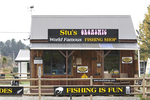 Stu's orgasmic fishing shop