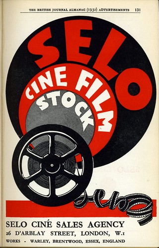 Selo Cine Film Stock 1932 by Nesster