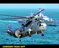 Take-Off (The Woodchopper) Tags: navy helicopters warship colorphotoaward oltusfotos