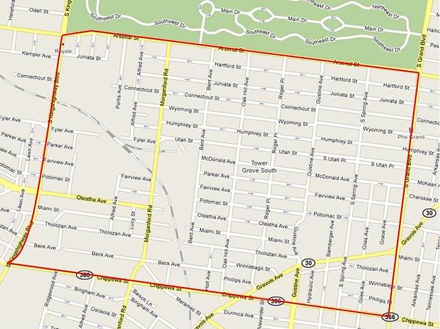 Tower Grove South neighborhood - STL