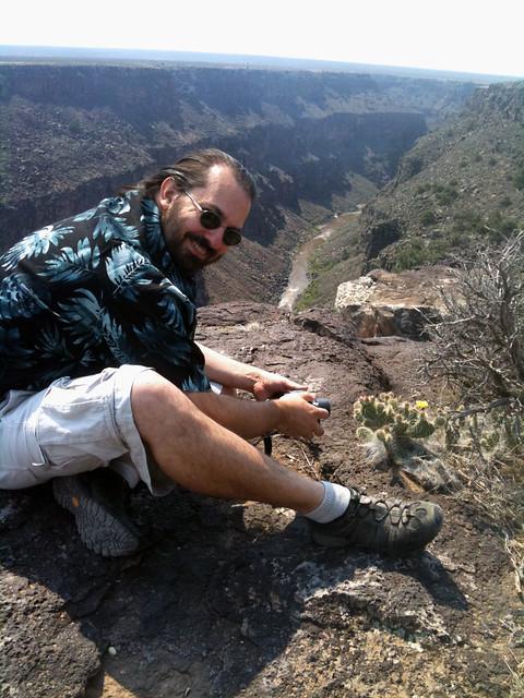 Eric Howton Rio Grande Gorge, Taos, NM 2011