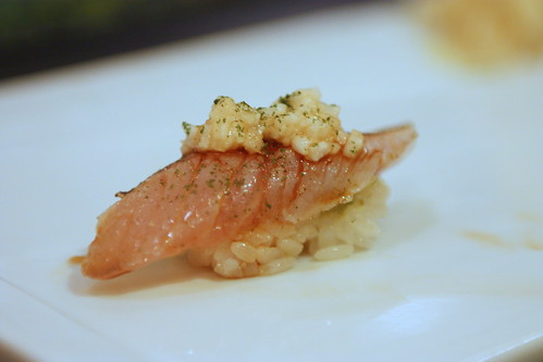 Japanese Brown Barracuda with Mountain Potatoes
