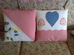 Cushions by Mum