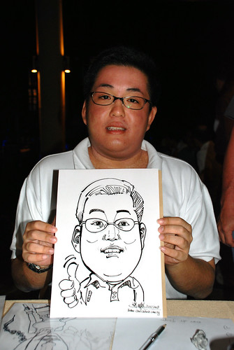 Caricature live sketching Hypercoat Enterprises Pte Ltd 2