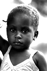 Child girl portrait, Mozambique, Africa