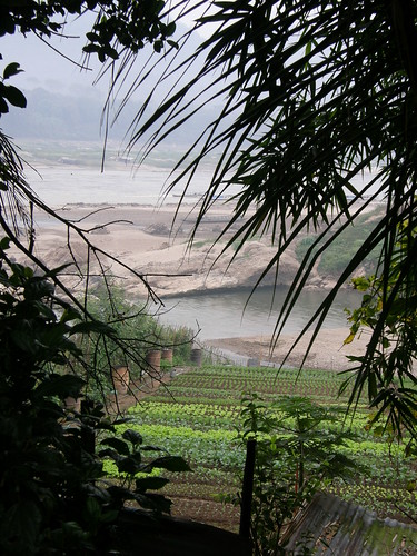 Mekong River in Luang Prabang
