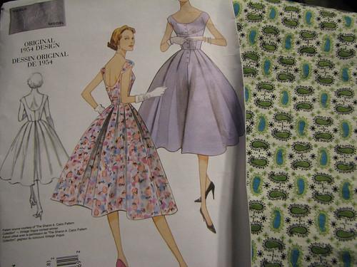 1954 Vogue Pattern