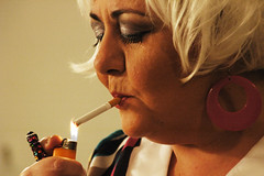 (galo/*) Tags: portrait theater d70 theatre actress smoker backstage galopoulos