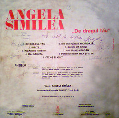 Angela Similea - De dragul tau B