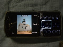 File Explorer photo viewer Landscape - Sony Ericsson K850i