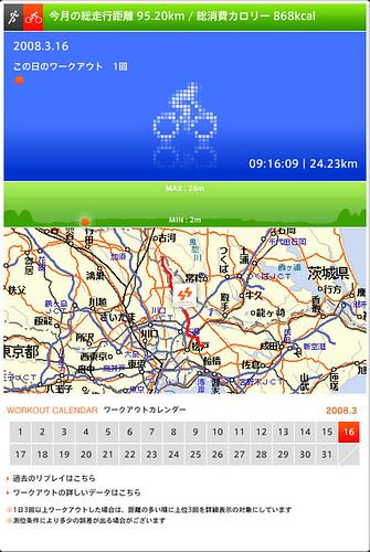 au Smart Sports Run&Walk Map