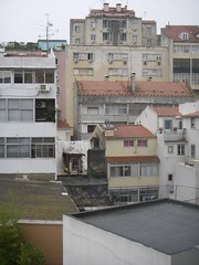 Lisbon's backyards - some are ugly...