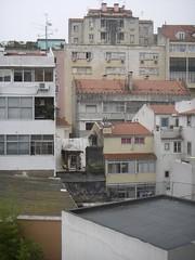 Lisbon's backyards - some are ugly...