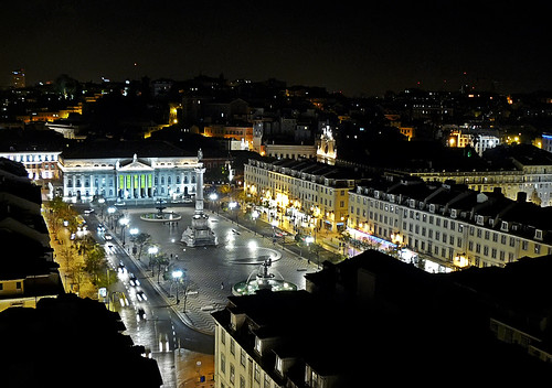 Lisboa-Praça do Rossio