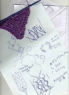Make Your Own Knitting Pattern Chart : knitonthenet: Design your own Knitting Chart