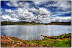 Close to the sky (Kaj Bjurman) Tags: sky lake peru titicaca clouds eos highlands high hdr kaj puno cs3 photomatix 40d bjurman
