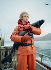 Matthew_and_the_Sleeper (coreyfishes) Tags: ocean sea snow color ice dutch weather alaska danger harbor photo fishing fisherman king arnold picture wave crab corey catch kingcrab discovery harsh beringsea crabbing rollo bering snowcrab opilio deadliest deadliestcatch coreyfishes