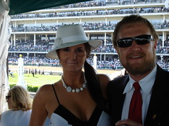 Karl and Katie (kpersson) Tags: kentucky 2008 derby deby