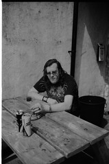 Springtime at The VNU. (VEB Zardoz the Gravyboat) Tags: uk bw apple wales mono mac unitedkingdom britain cymru bn software iphoto welsh merthyrtydfil schwarzweiss ritratto  reportage  blancenegre  merthyrtydvil
