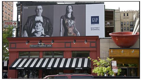 Bernard Heerey's illegal billboard