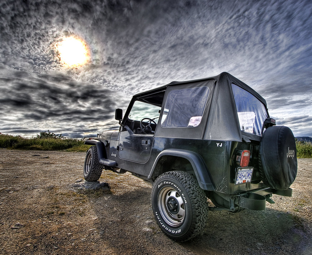 Jeep YJ HDR by darrenstone