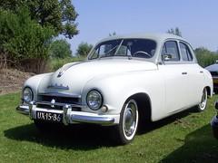1955 Skoda 1200 (Davydutchy) Tags: auto 1955 netherlands car czech czechrepublic 1200 groningen veteran skoda zoutkamp klassiker veterancar lauwerzijl 1car skoda1200 skodaclub skodaoldtimerclub ux1586 specialcwodlp sidecode1