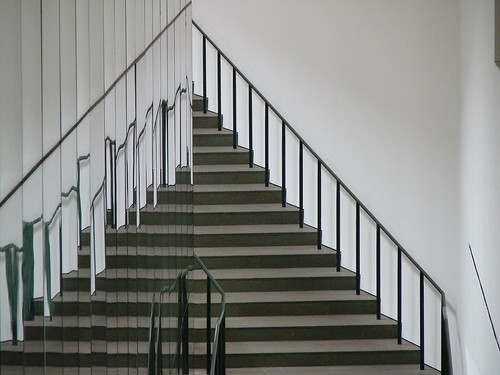 Reflected stair