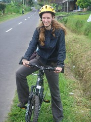 Iza op nen mountain bike