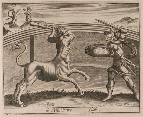 09-Teseo y el Minotauro