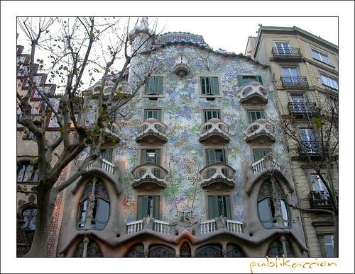 casa batllo barcelona. Casa Batlló de Gaudí,