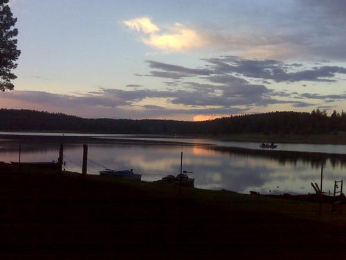 Hawley Lake Sunset