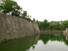 RequisiteBarrierWallShot (xkachoojix) Tags: castle wall kyoto nijo