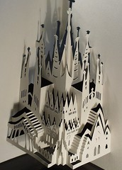Sagrada Familia - Barcelona, Spain (Ingrid Siliakus) Tags: houses sculpture white abstract holland ingrid water dutch amsterdam architecture paper paperart fire three canal blackwhite 3d artist cut architect rings cardboard elements cube gaudi cutting kirigami fold 2008 papier wit paperfolding antoni folding catalan biennial figurative symbolic architectuur kunstenaar karton dimensional drie papersculpture threedimensional unfolding canalhouses geometrisch vouwen origamic origamicarchitecture vouw papercutting snijden dutchartist figuratief rijwijk papierkunst abstractartaward paperarchitecture paperartist siliakus dimensionaal snij papierarchitectuur dutchpaperartist papierarchitecture papierkunstenaar papierarchitect paperarchitect museumrijswijk