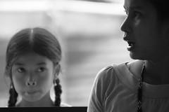 Curiosity (ibarra_svd) Tags: blackandwhite girl monochrome canon children asian asia southeastasia child philippines teacher canondslr mindoro asiangirl teampilipinas canoneos450d ormindoro polaormindoro