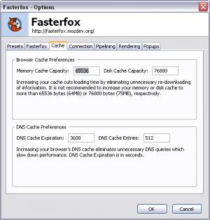 Fasterfox para o Firefox 3