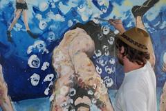DSC_0849 (Kurt Christensen) Tags: art beach painting mural surf thrust gilgobeach gilgo