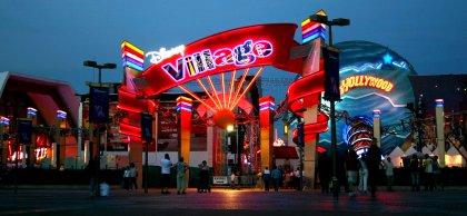 Eingang Disney Village