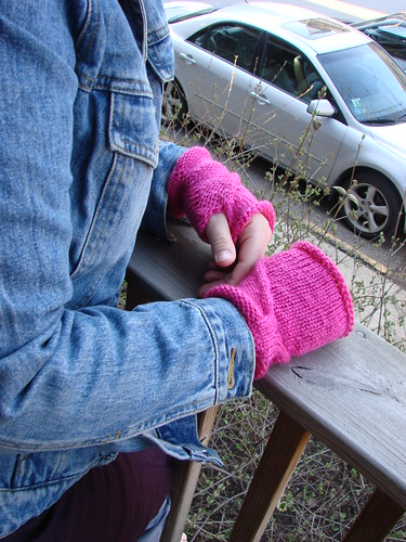 handholders fingerless gloves