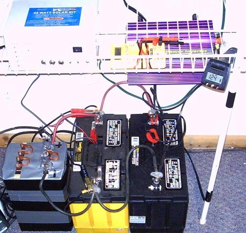 Solar Power Bank - Pb/Acid & LiFePO4 Hybrid Pack