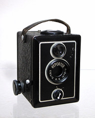 Reporter box camera by So gesehen., on Flickr