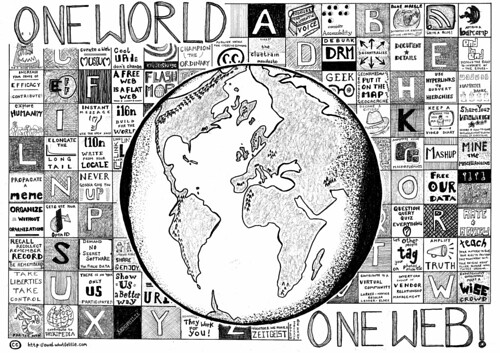 One World - One Web by psd, on Flickr